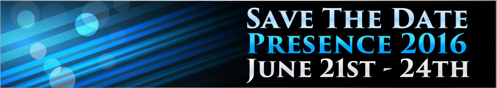 Presence save the date